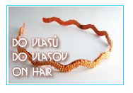 do vlasů, on hair